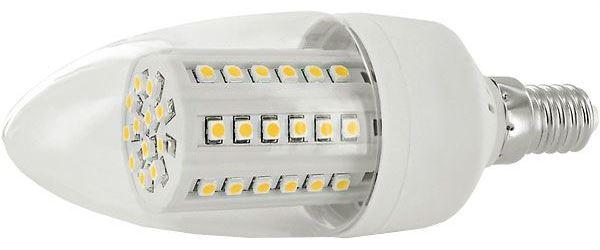 Žárovka LED E14 C35 svíčková,bílá, 230V/ 7W,DOPRODEJ