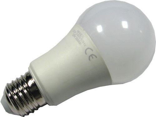 Žárovka LED E27 A60 hrušková 230V/12W, teplá bílá