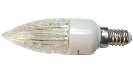 Žárovka LED E14 C30 svíčková, bílá, 230V/2W, DOPRODEJ