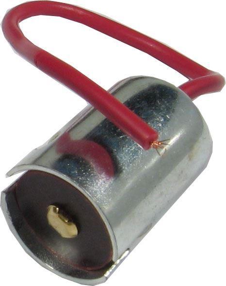 Patice BA15S kovová s vývodem 15cm