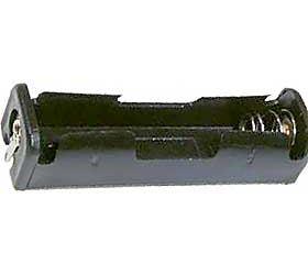 Držák baterie 1xR6/AA/UM3 s pájecími očky