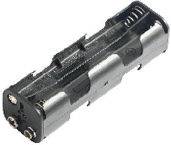 Držák baterie 8xR6/AA/UM3 s klipsem