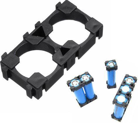 Držák baterie z článků 18650 - modul pro 2 články