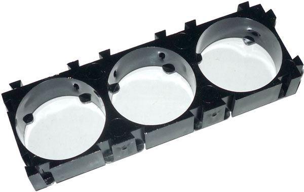 Držák baterie z článků 18650 - modul pro 3 články