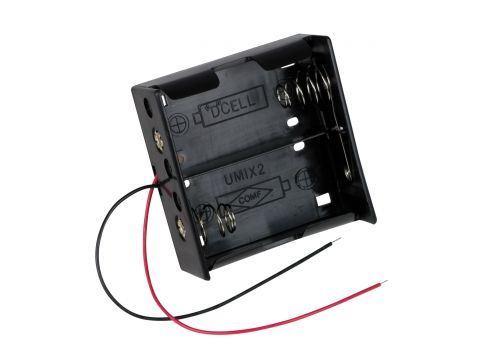 Držák baterie 2xD (R20) BH121-1A