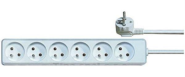 Prodlužovací přívod 10m-6x10A,3x1mm2