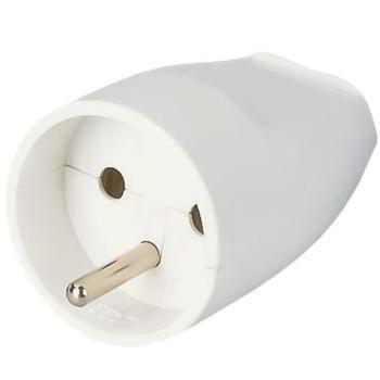 Zásuvka 230V/10A bílá, přímý vývod
