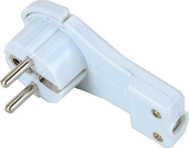 Vidlice 230V/16A KF-GRC-03 extra plochá