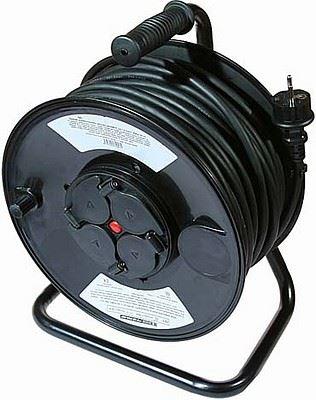 Prodlužovací přívod 50m-naviják,4x16A,3x1,5mm,IP44