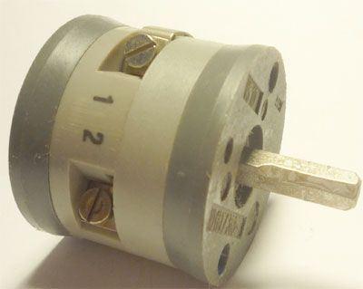 Vačkový spínač VS10 2251 D4, 10A/380V~, 2 polohy 90°
