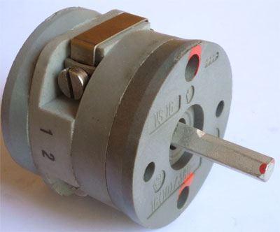 Vačkový spínač VS16 2251 D4, 16A/380V~, 2 polohy 90°