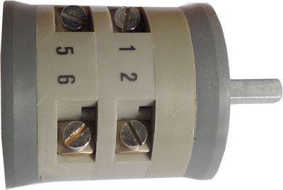Vačkový spínač VS10 1103 A4, 10A/380V~, 2 polohy 90°