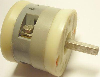 Vačkový spínač VS10 1101 A4, 10A/380V~, 2 polohy 90°