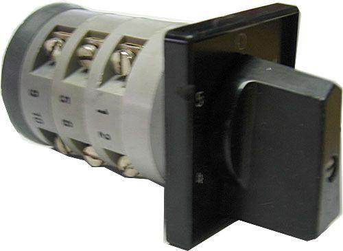 Vačkový spínač VS10 6008 C6, 10A/380V~, 6 poloh 60°