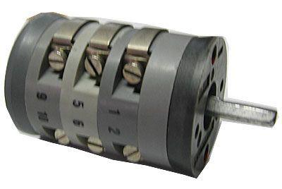 Vačkový spínač VS10 2253 D4, 10A/380V~, 2 polohy 90°
