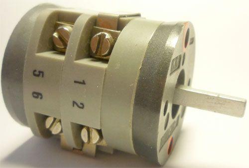 Vačkový spínač VS16 3021 A1, 16A/380V~, 4 polohy 30°