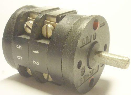 Vačkový spínač VS16 2202 V8, 16A/380V~, 3 polohy 45°