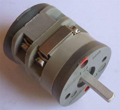 Vačkový spínač VS16 9455 A4, 16A/380V~, 3 polohy 90°