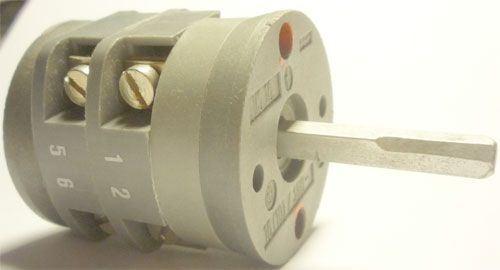 Vačkový spínač VS16 1103 A4, 16A/380V~, 2 polohy 90°