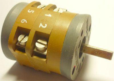 Vačkový spínač VS16 2252 K4, 16A/380V~, 2 polohy 90°