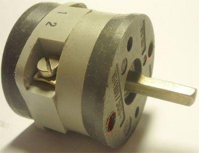 Vačkový spínač VS16 1101 C4, 16A/380V~, 3 polohy 90°