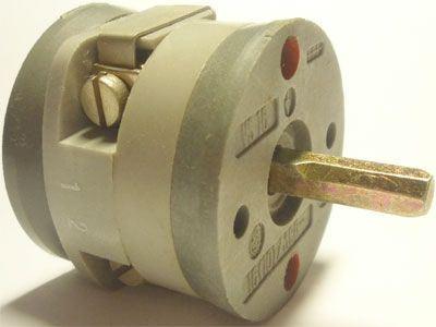 Vačkový spínač VS16 5201 A8, 16A/380V~, 3 polohy 45°