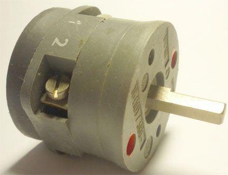 Vačkový spínač VS16 1101 A4, 16A/380V~, 2 polohy 90°