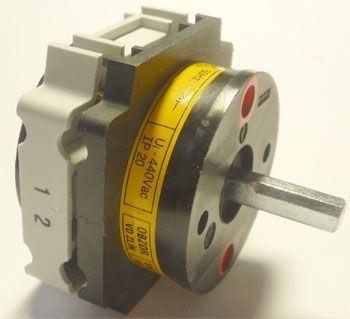 Vačkový spínač VS16 1102 A4, 16A/400V~, 2 polohy 90°