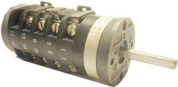 Vačkový spínač VS16 2353 B4, 16A/380V~, 3 polohy 90°
