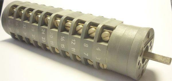 Vačkový spínač VS16 1260 D4, 16A/380V~, 2 polohy 90°
