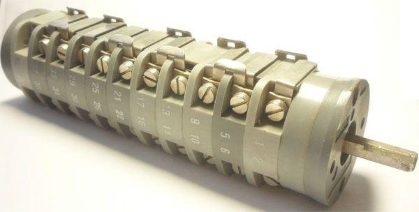 Vačkový spínač VS16 2703 B8, 16A/380V~, 8 poloh 45°
