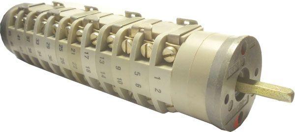 Vačkový spínač VS16 2358 B4, 16A/380V~, 3 polohy 90°
