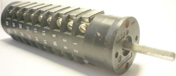 Vačkový spínač VS16 2259 N4, 16A/380V~, 2 polohy 90°
