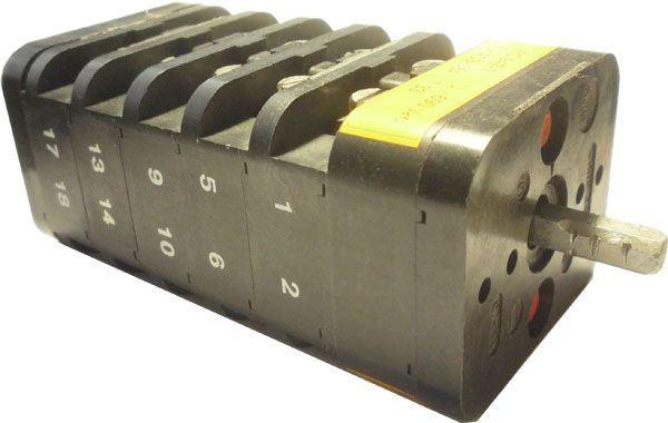 Vačkový spínač VS25 1110 B4, 25A/380V~, 2 polohy 90°