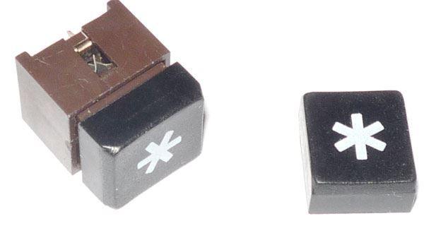 Hmatník k telefonnímu mikrospínači 4FK57300-hvězdička