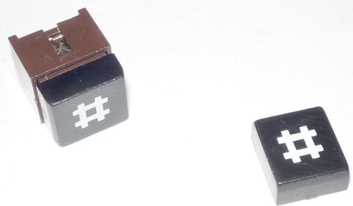 Hmatník k telefonnímu mikrospínači 4FK57300-křížek