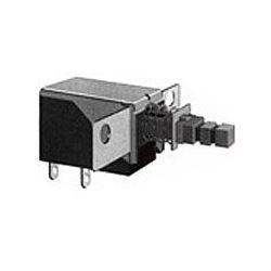 Přepínač stiskací ON-OFF 1pol.250V/0,5A