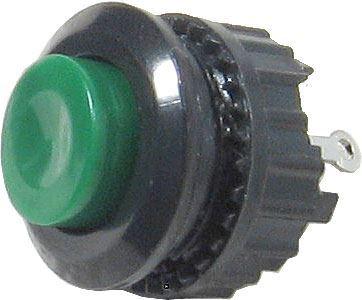 Tlačítko DS-501, ON-(OFF) 125V/1A zelené rozpínací