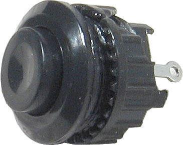 Tlačítko DS-501, ON-(OFF) 125V/1A černé rozpínaví