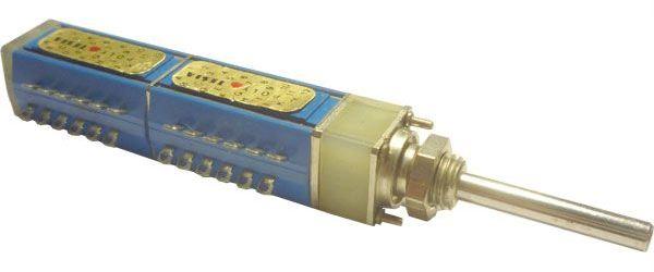 Přepínač otočný TS121 3222/05, 5 poloh, 2pakety, hřídel 3x25mm