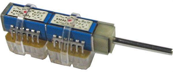 Přepínač otočný TS122 5121/10, 10 poloh, 2pakety, hřídel 3x25mm