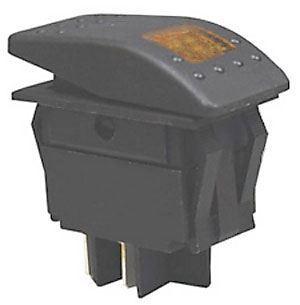 Vypínač kolébkový  RK1-06 ON-OFF 2p.12V/30A oranžový