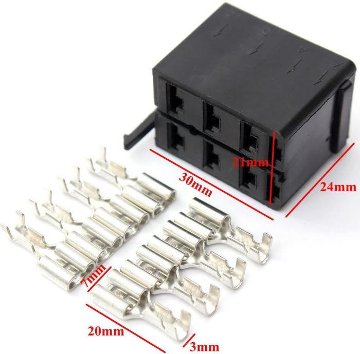 Patice pro vypínače typu Carling