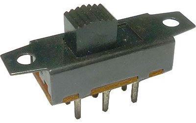 Přepínač posuvný ON-ON 2pol. 35x9mm
