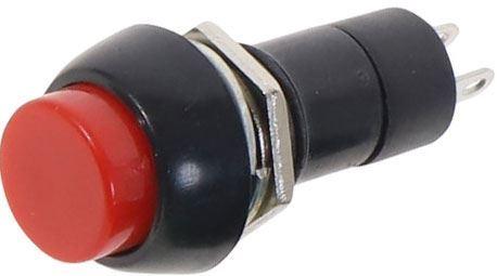 Tlačítko OFF-(ON) 1pol.250V/1A červené