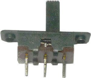 Přepínač posuvný ON-ON 1pólový, 50V/0,5A, 18x5mm