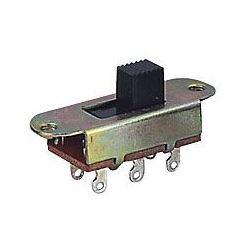 Přepínač posuvný KBB70-2P2W, ON-ON 2pólový 250V/3A