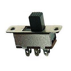 Přepínač posuvný KBB40-2P2W ON-ON 2pólový 250V/0,5A