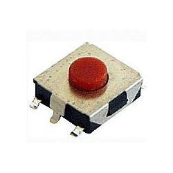 Mikrospínač SMD 6,5x6,5mm v=2,5mm