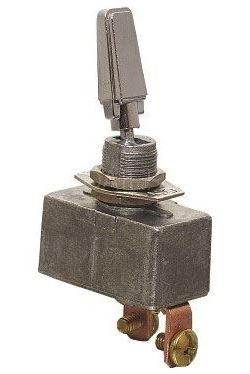 Přepínač páčkový R13-401-101, ON-OFF 1pol.12V/50A